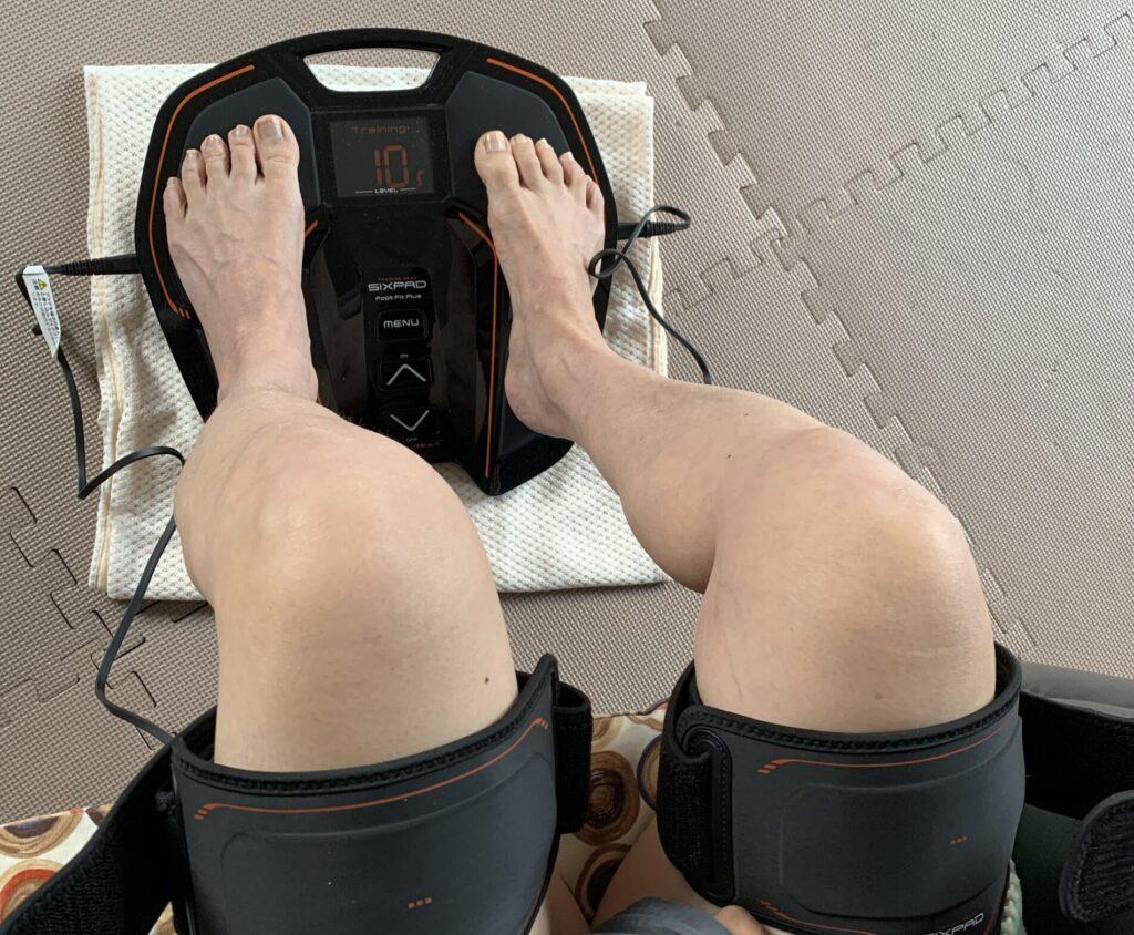 足裏から太ももまで鍛えられるのはFoot Fit Plusだけ